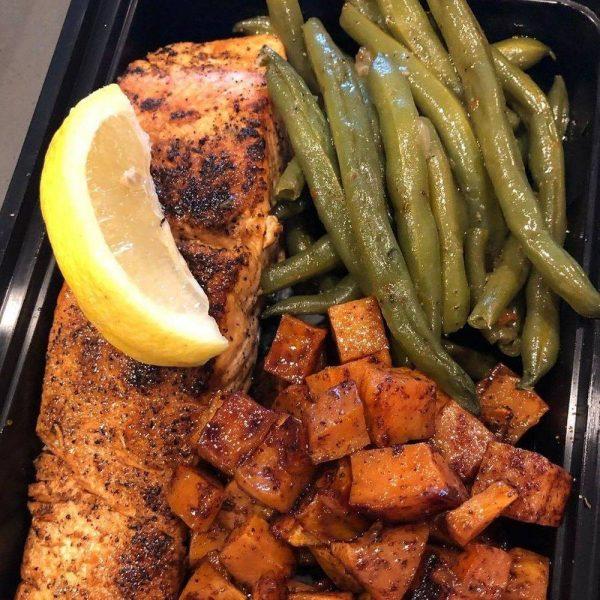 Citrus BBQ Salmon