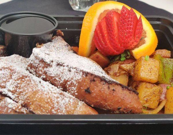 French Toast Breakfast Box