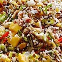 Mango & Wild Rice boxed salad