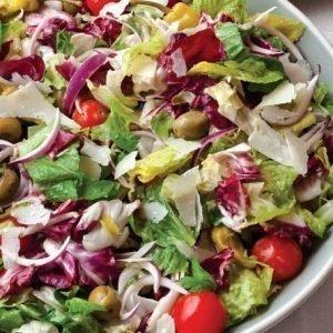 Crisp lettuce Boxed salad