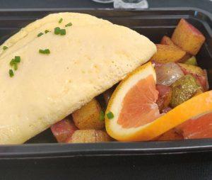 Traditional Omelette Breakfast Box