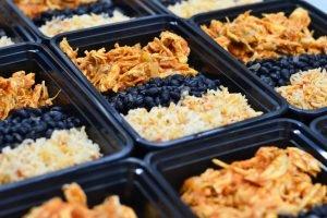 Taco Bar Box Meal Individually Packaged Box Meal